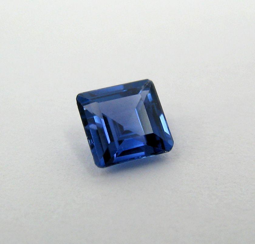 90 Carat Emerald Cut Blue Sapphire   Gem Quality Heated Only