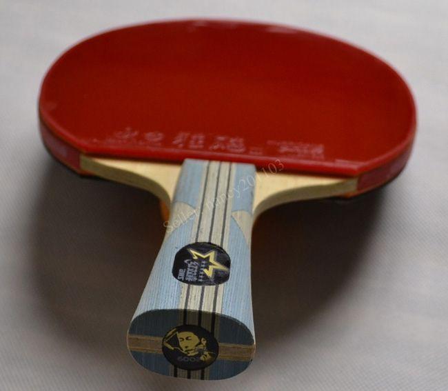 Ping Pong Table Tennis Racket Paddle Bat 6 star DHS 6002 NEW
