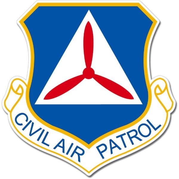 US Air Force Civil Air Patrol Command Emblem Sticker Decal Mural