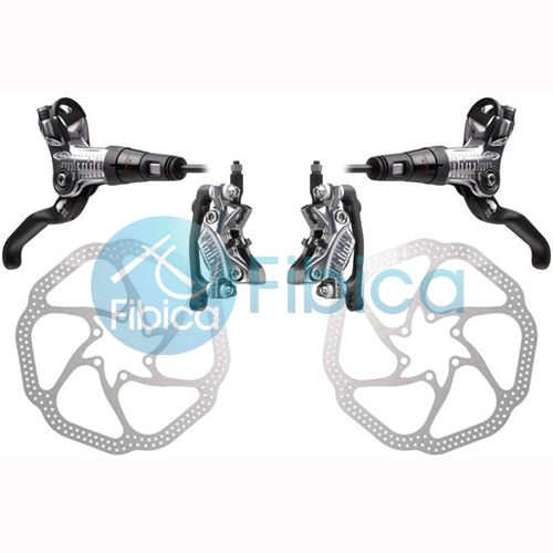 2012 Avid CODE R 4 Piston Hydraulic Disc Brake R&L set