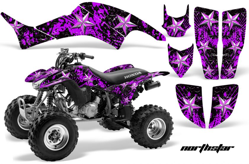 AMR RACING ATV QUAD GRAPHIC STICKER KIT DECO HONDA TRX400 TRX 400EX