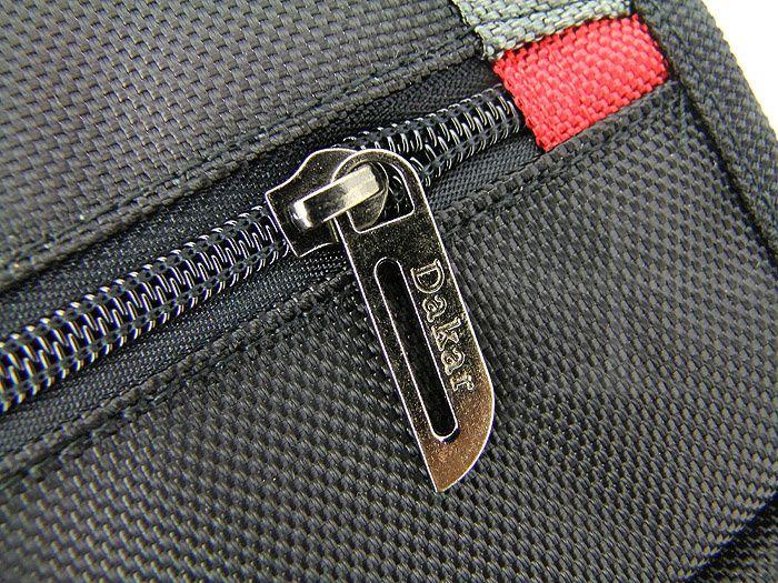 Dakar Mens casual nylon shoulder bag black Messenger bag 133D