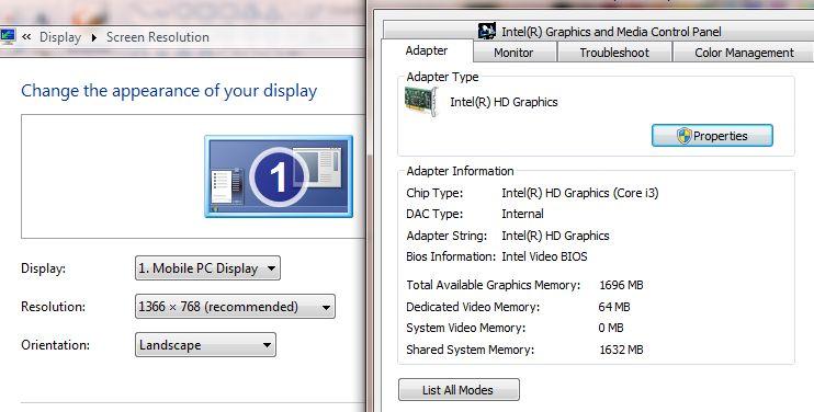 Dell Latitude laptop E5510 Intel Core i3 380M 2.53ghz Win 7 4GB/500GB