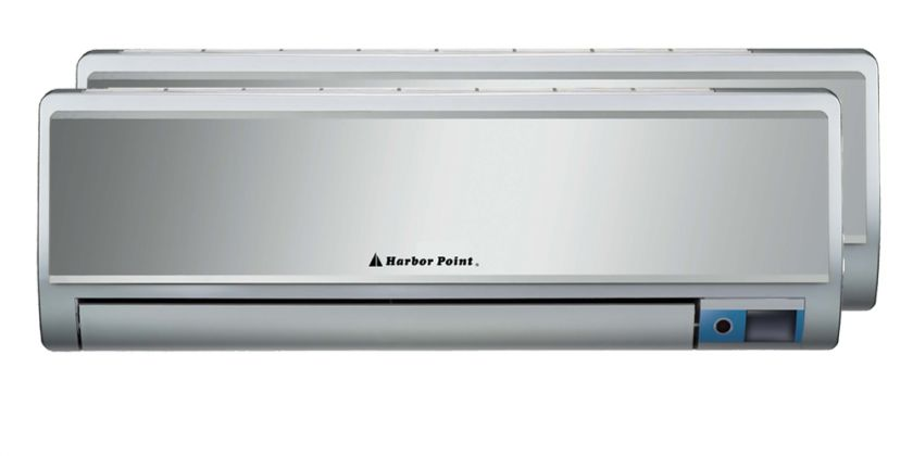 12000×2 Btu Dual Zone AC Heat Pump Ductless mini split